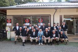 平成30(2018)年の鹿の角きりを開催しました。