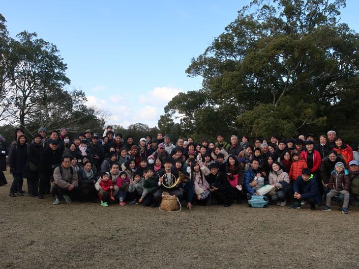2月10日大和路キャンペ-ン「鹿寄せ」