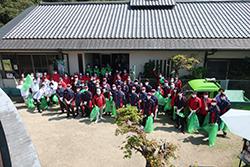 奈良ダイハツ様と奈良公園内の清掃活動